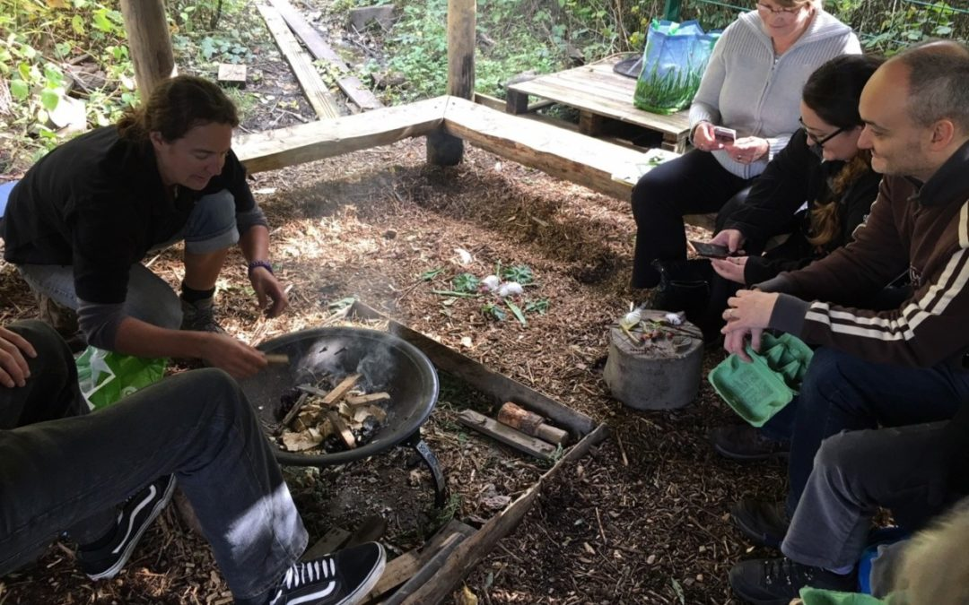 Valleys Steps takes well-being into the woodlands